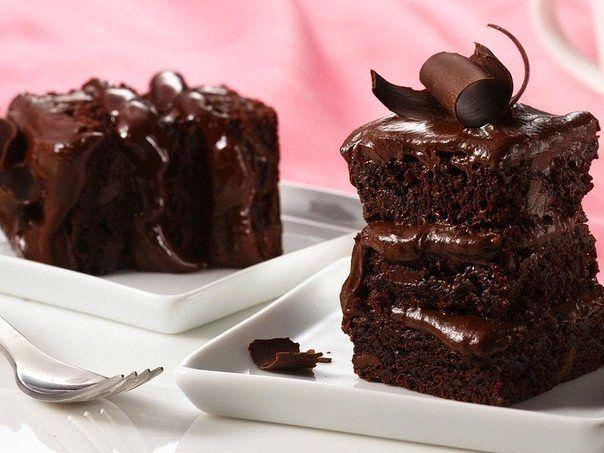 Быстрый пирог на кефире с шоколадом (604x453, 49Kb)