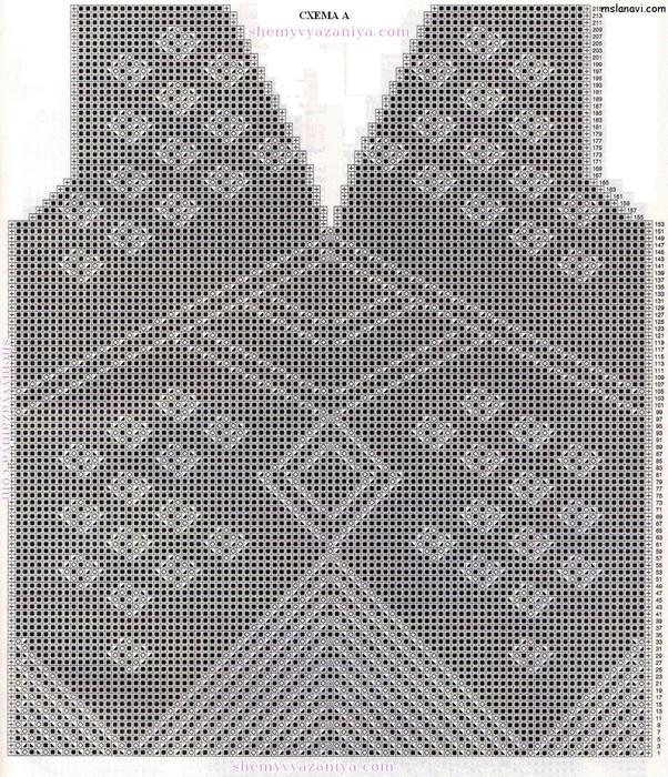 Ажурный-пуловер-спицами-схемы (602x700, 240Kb)