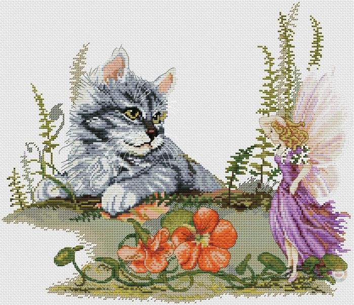 Furry Fairy Friends (700x602, 635Kb)