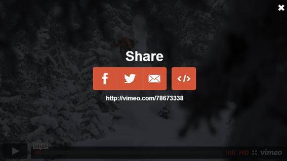 Как встроить видео Vimeo.com (разместить на сайте)