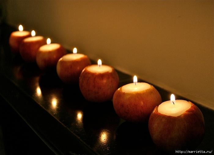 ЯБЛОКИ в интерьере. Самые красивые идеи осеннего декора (58) (700x509, 231Kb)