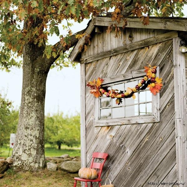 ЯБЛОКИ в интерьере. Самые красивые идеи осеннего декора (89) (600x600, 292Kb)