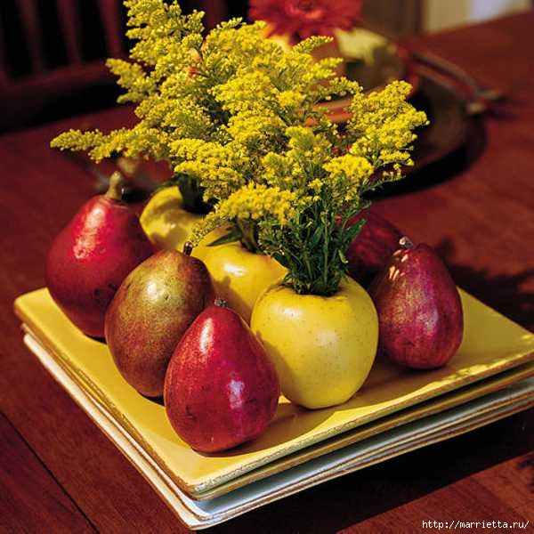 ЯБЛОКИ в интерьере. Самые красивые идеи осеннего декора (97) (600x600, 199Kb)