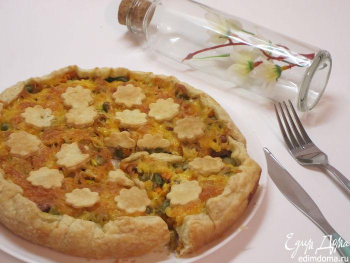 Рецепт открытого пирога с кукурузой (1) (700x525, 231Kb)