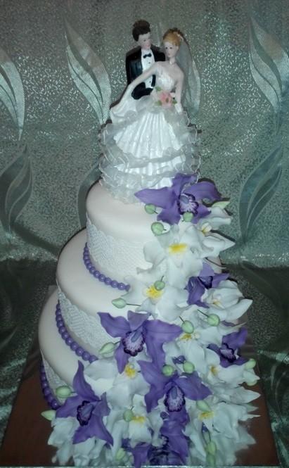 свадебный-торт-каскад-орхидей (411x665, 93Kb)