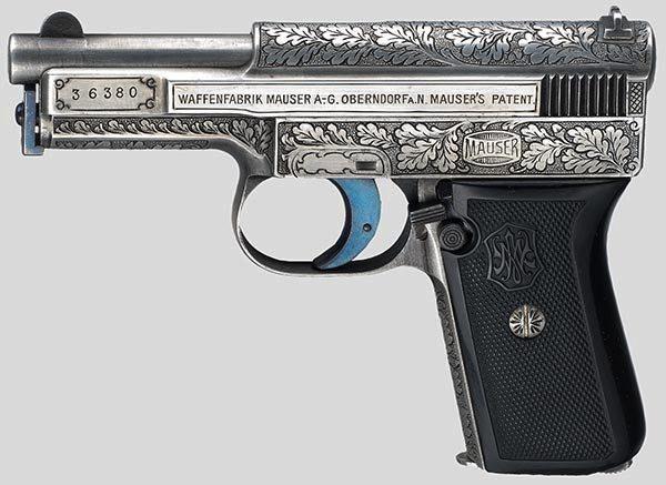 Пистолет Маузер М.1910 г в