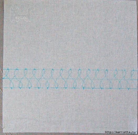 Льняные подушки с простой вышивкой (7) (526x516, 170Kb)