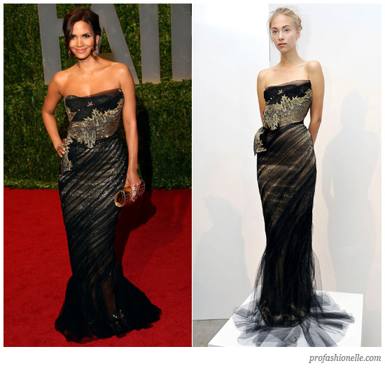 Halle Berry Gowns
