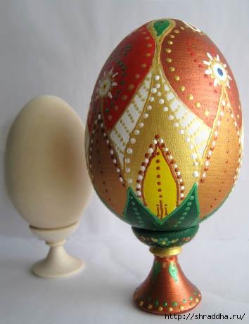 пасхальные яйца роспись акрилом