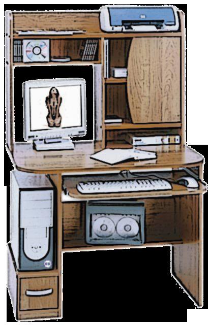 Мой компьютерный стол