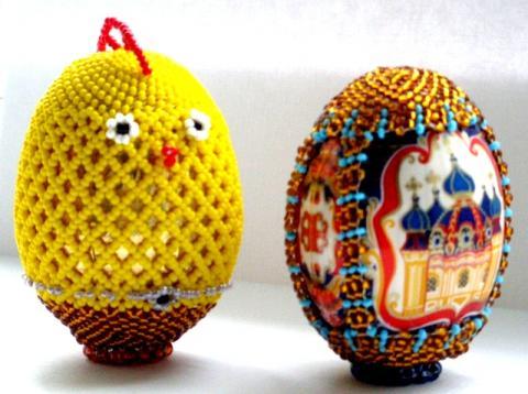 Красными будут яйца, если их