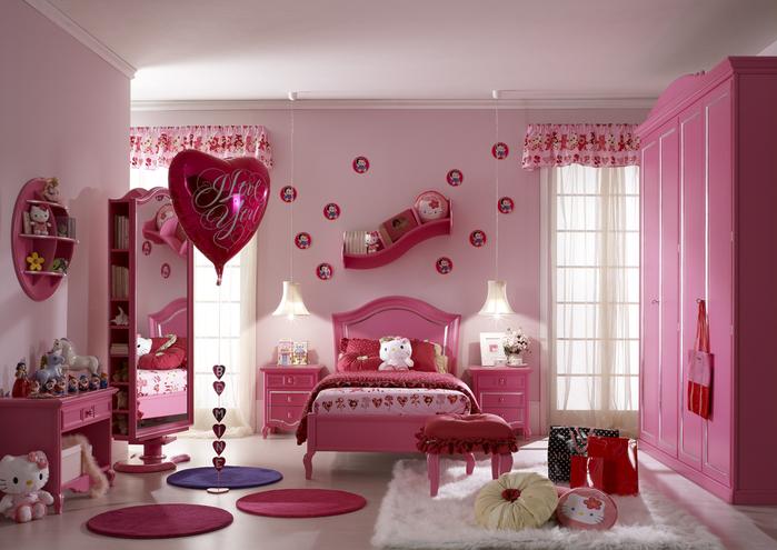 غرف نوم للصبايا  42935140_Pam4_camerette_017