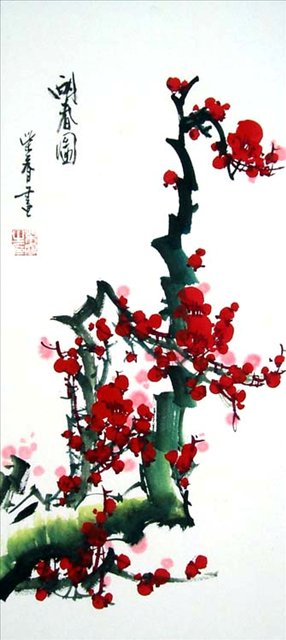 Цветущая слива Чай Руи (Китай) (286x640, 47Kb)