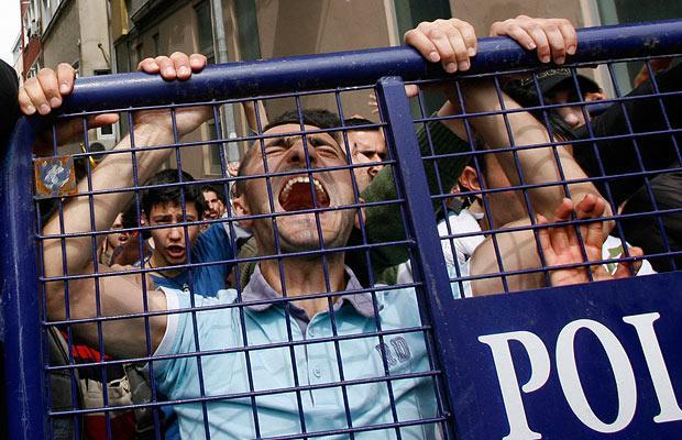 Первомай Насилие Стамбула