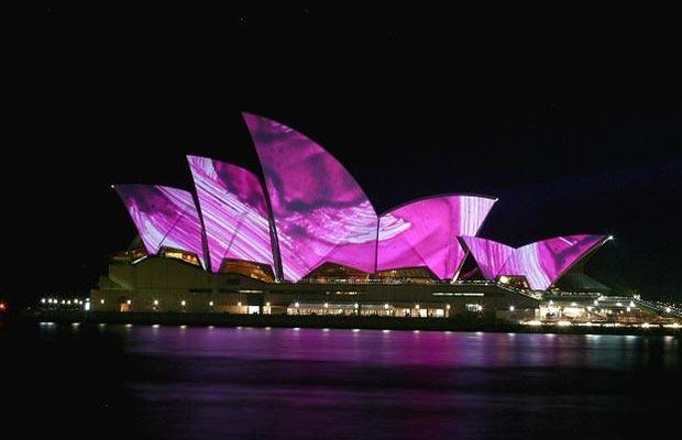 Smart проект Брайана Эно Sydney Opera House
