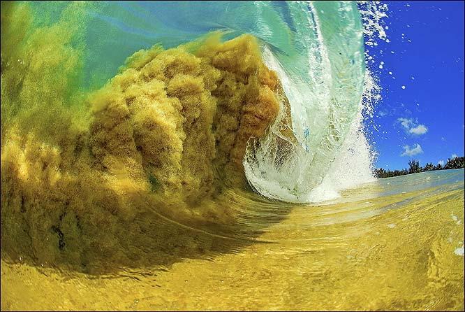 фото волны