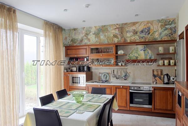 Роспись стен кухни