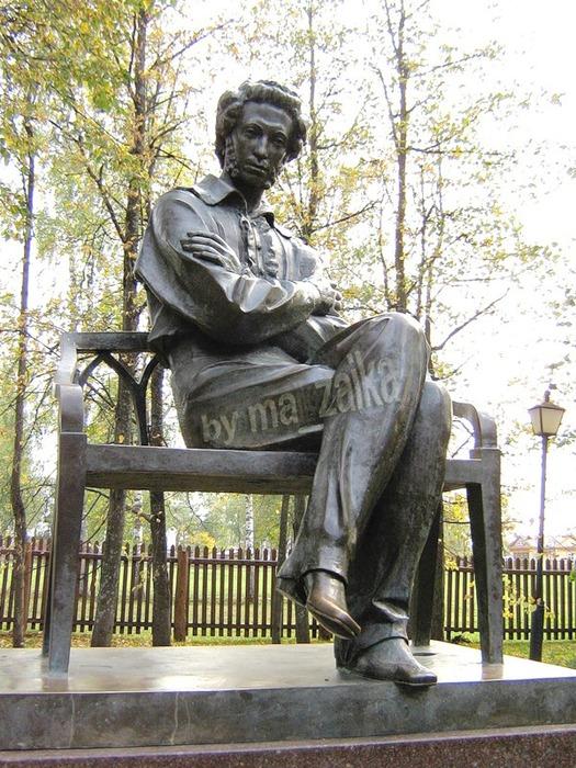 Памятник А.С.Пушкин