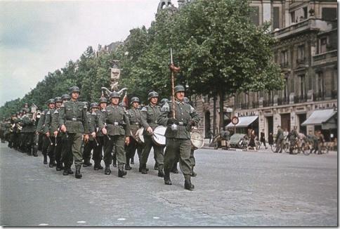 Парижане во время Оккупации