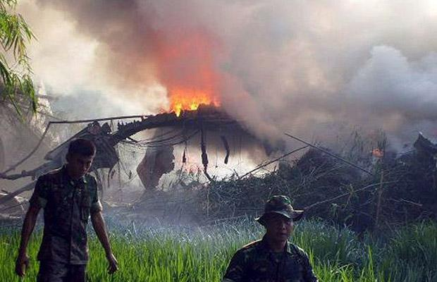 Авиакатастрофа на Яве