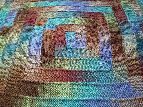 有艺术性的毯子好织又好看 - maomao - 我随心动