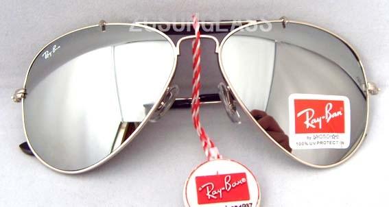 ray ban 3025 aviator a1mo  Ray Ban Silver Aviator Sunglasses