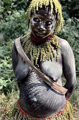 Jarawa племя на AndamanS