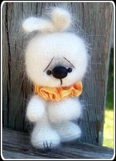 bunny crochet for easter