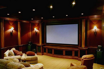 Установка домашнего кинотеатра