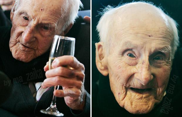 Самый старый человек Генри Allingham