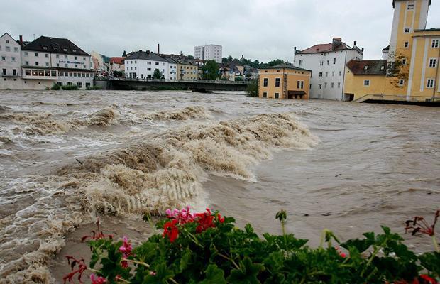 Наводнение: Австрия