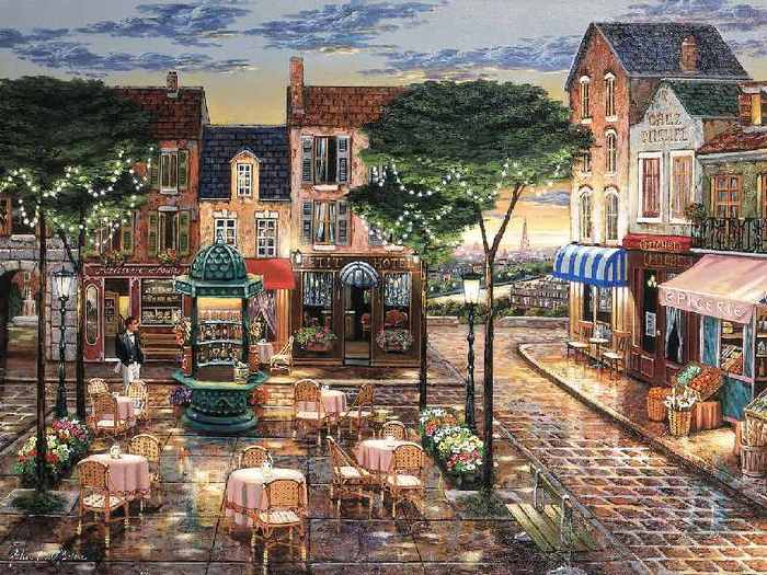 романтичные картины Джона О'Брайена - milk  - ☆ Milk ☆ 平平。淡淡。也是真。