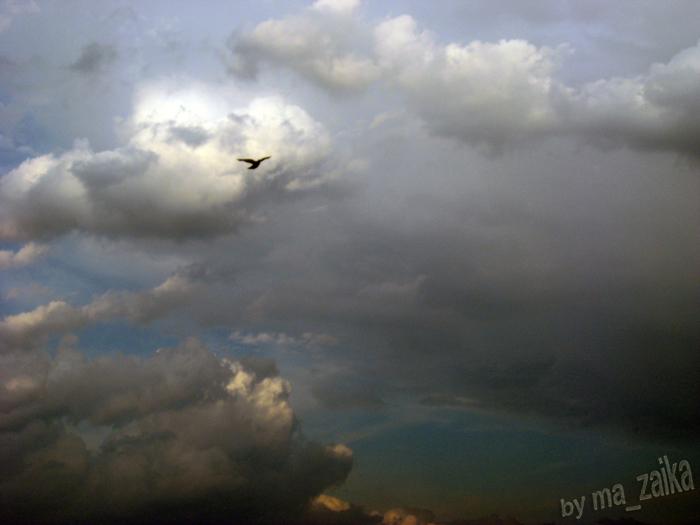 Фото небо Саратов