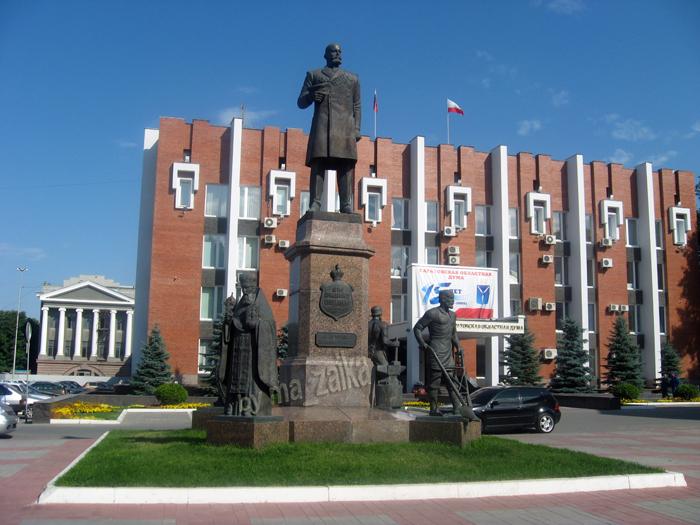 Памятник Столыпину Петру Аркадьевичу в Саратове