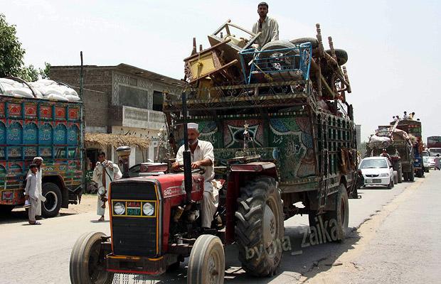Возвращение пакистанцев в долину Сват