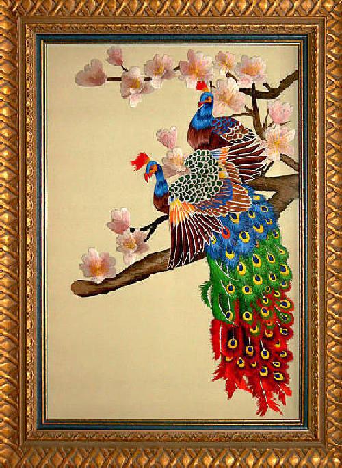 Традиционная китайская вышивка