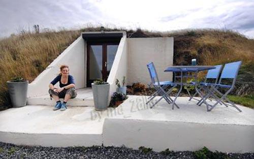 Разработчик Лиз Strutton купила бункер за £ 145,000