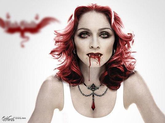 Celebrity вампиры