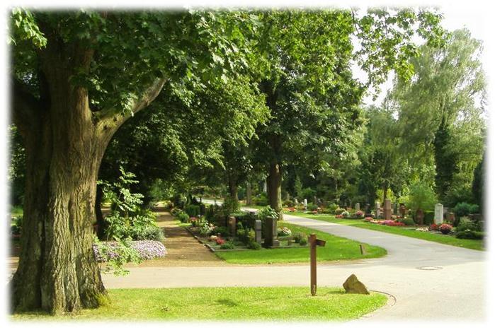 """Кладбище Stoffeler Friedhof существует с 1879 года. Запланировано было кладбище на юге """"тогдашнего"""" Дюссельдорфа"""