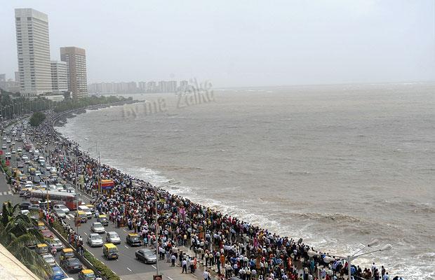 Мумбаи: большая приливная волна