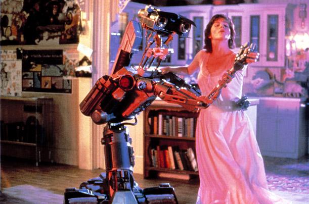 робот девушка прислуга видео