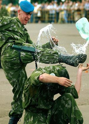 Россия отмечает День ВДВ