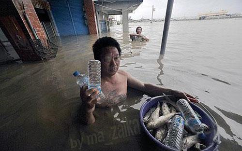 Наводнения в Тайване: десятки пропали без вести