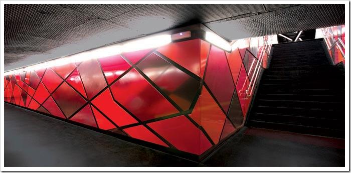 Подземный креатив (4 фото)