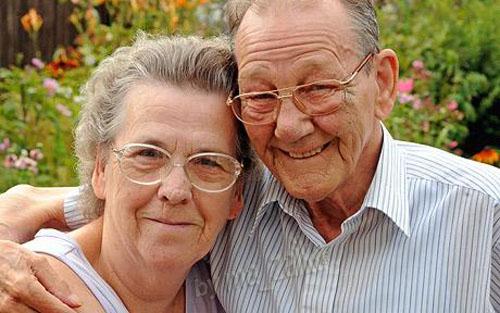 Хелен Butterwick с мужем Дэвидом