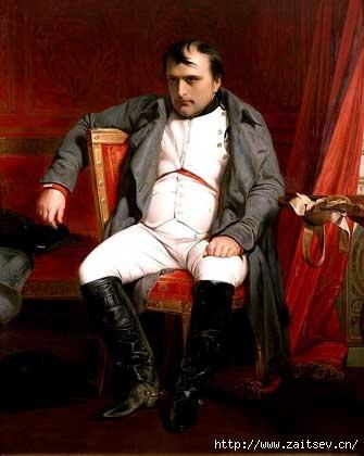 Наполеон в Фонтенбло С картины Деларона С сайта zaitsev.cn Дмитрий Зайцев