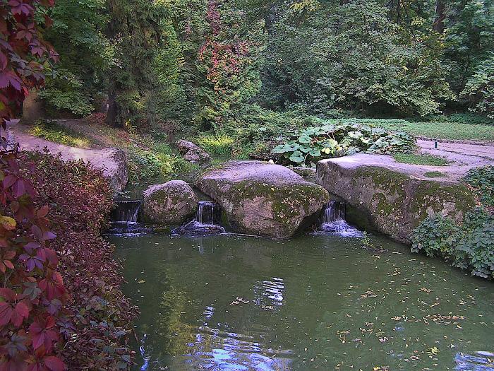 Умань. Софиевский парк. Водопады в Темпейской долине