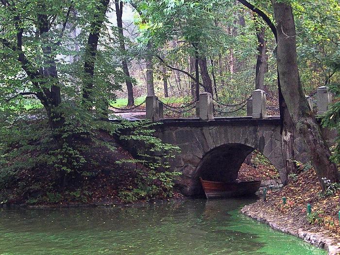 """Умань. Софиевский парк. """"Венецианский мост"""""""