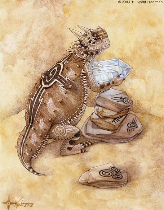Иллюстрации от H. Kyoht Luterman