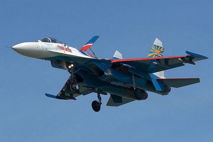 все что осталось от Су-27